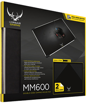 Коврик для мыши Corsair Gaming MM600 для PC коврик для мыши corsair gaming mm800 rgb polaris для pc