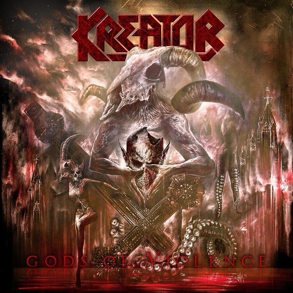 Kreator – Gods Of Violence (CD + DVD) альбом для cd и dvd в интернет магазине в спб