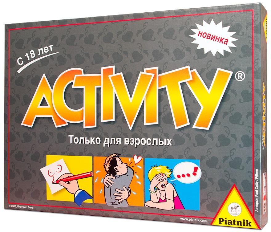Настольная игра Activity: Только для взрослыхНа первый взгляд Activity: Только для взрослых – это классическая Активити, с привычными правилами, почти неизменившимся полем и хорошо узнаваемыми фишками.<br>