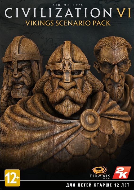 Фото Sid Meier's Civilization VI. Vikings Scenario Pack. Дополнение [PC, Цифровая версия] (Цифровая версия) sid meier s civilization and scenario pack korea дополнение [pc цифровая версия] цифровая версия