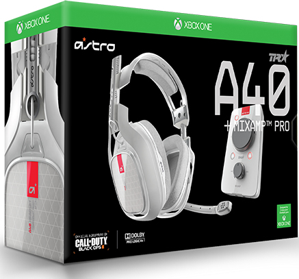 Гарнитура Astro A40 TR + MixAmp Pro TR (White) для Xbox One, PC, Mac astro city vol 14