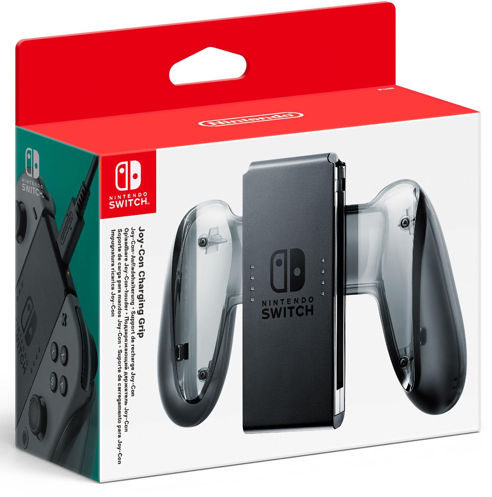 Подзаряжающий держатель джойстиков Joy-Con для Nintendo SwitchПодзаряжающий держатель Joy-Con позволит вам заряжать ваши контроллеры Joy-Con, в том числе во время игры.<br>