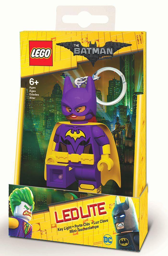 Брелок-фонарик для ключей LEGO Batman Movie (Лего Фильм: Бэтмен) – Batgirl lego batman movie блокнот бэтмен96 листов в линейку
