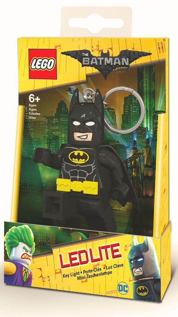 Брелок-фонарик для ключей LEGO Batman Movie (Лего Фильм: Бэтмен) – Batman