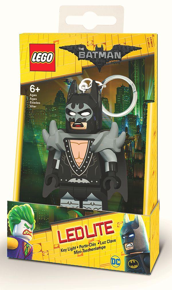 Брелок-фонарик для ключей LEGO Batman Movie (Лего Фильм: Бэтмен) – Glam Rocker Batman