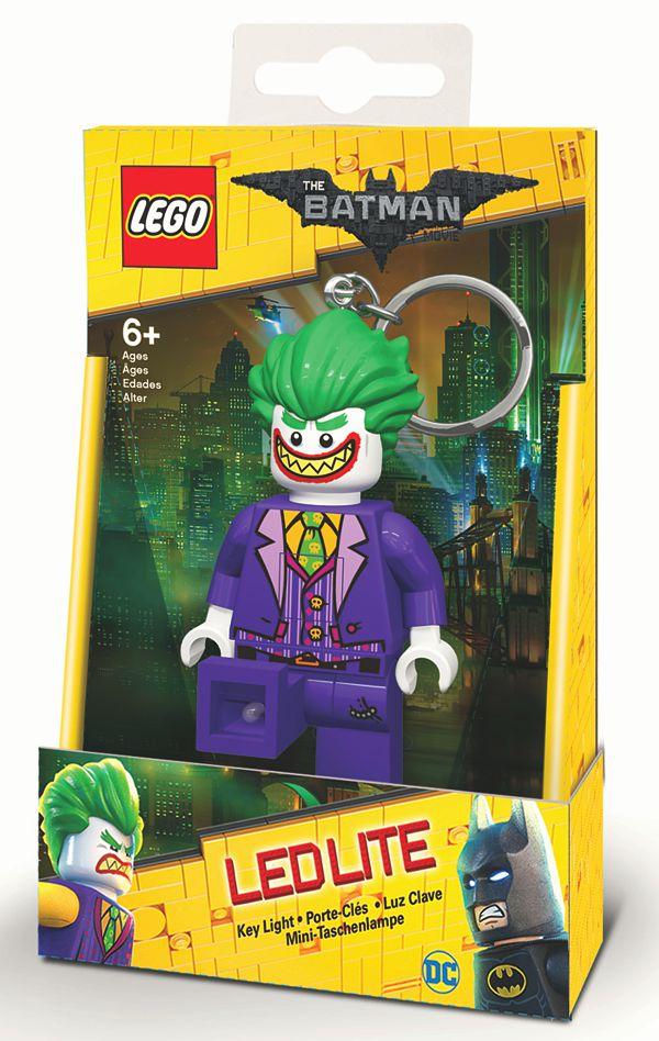 Брелок-фонарик для ключей LEGO Batman Movie (Лего Фильм: Бэтмен) – Joker брелок фонарик lego lego lgl ke30 брелок фонарик для ключей joker