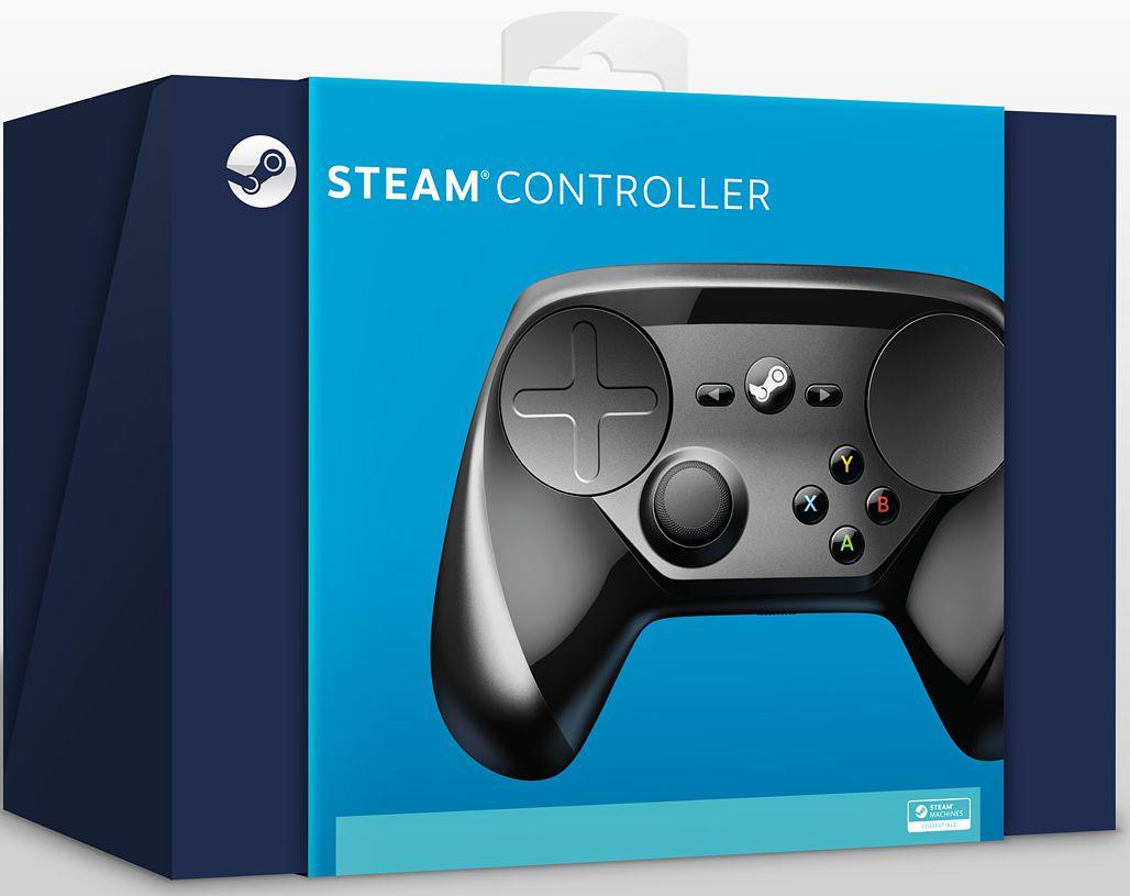 Беспроводной геймпад Steam Controller для PC