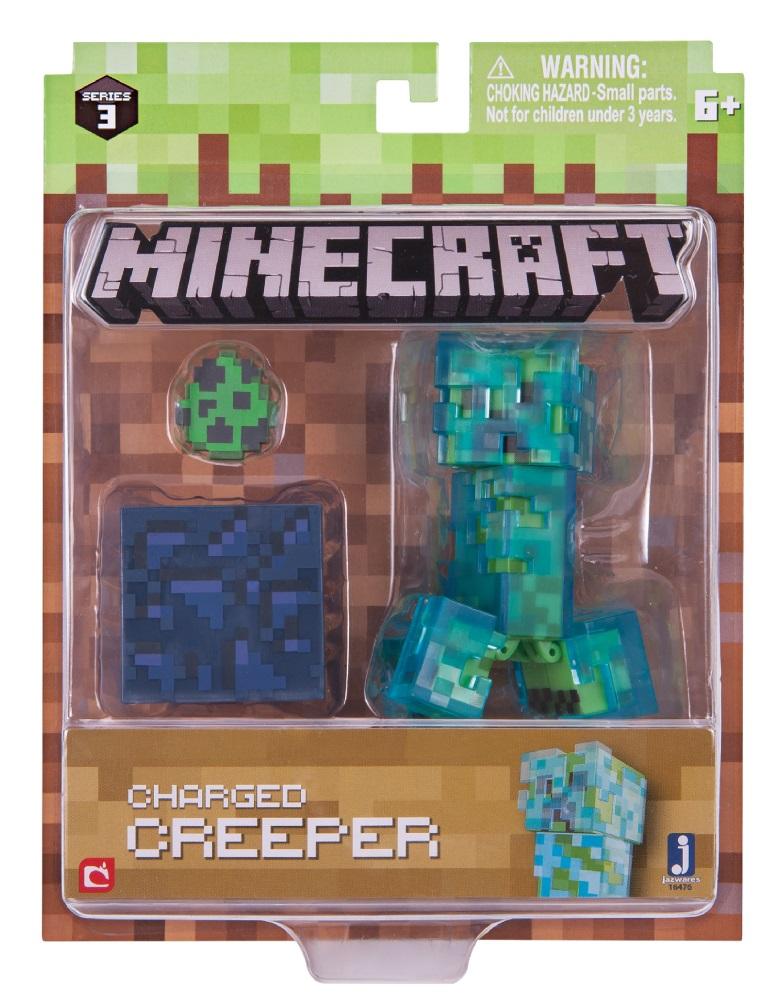 Фигурка Minecraft Charged Creeper – Series 3Minecraft Charged Creeper Pack – Series 3 представляет собой набор фигурок, каждая из которых выполняет важную роль в Minecraft – мире, который целиком и полностью зависит от вашего воображения.<br>
