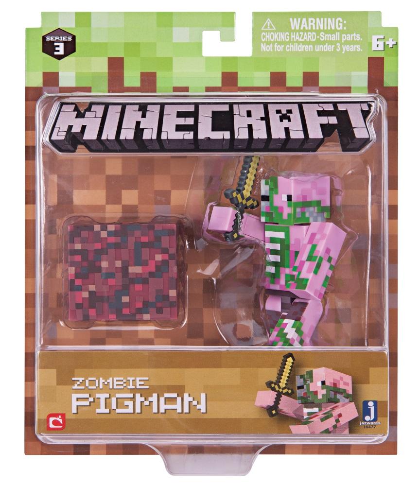 Фигурка Minecraft: Zombie Pigman – Series 3Представляем фигурку Minecraft: Zombie Pigman, созданную по мотивам популярной компьютерной игры.<br>
