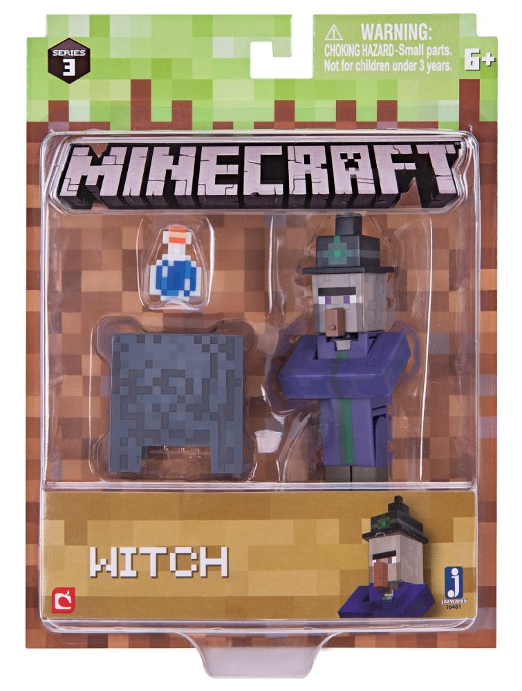 Фигурка Minecraft: Witch – Series 3Представляем фигурку Minecraft: Witch, созданную по мотивам популярной компьютерной игры.<br>