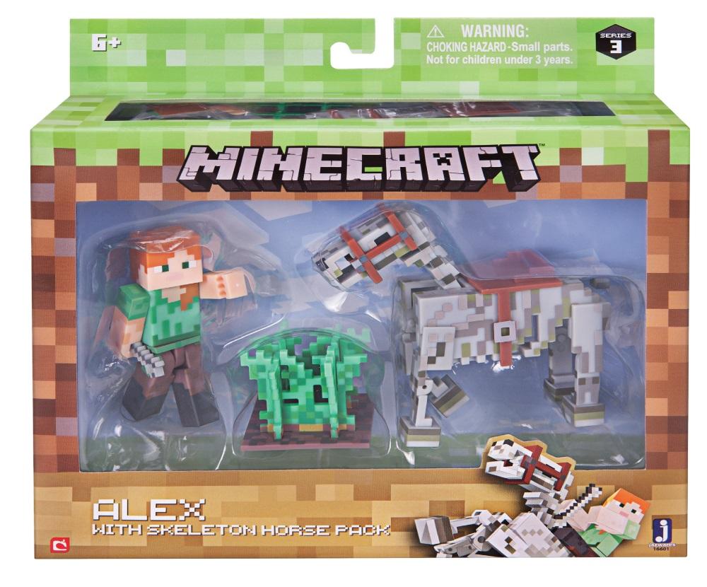 Игровой набор Minecraft Снежный Голем с аксесс.,15х18х5см,блист.