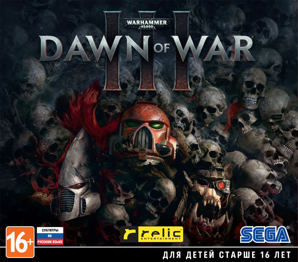 Warhammer 40 000: Dawn of War III [PC–Jewel] play arts kai god of war iii kratos action figure