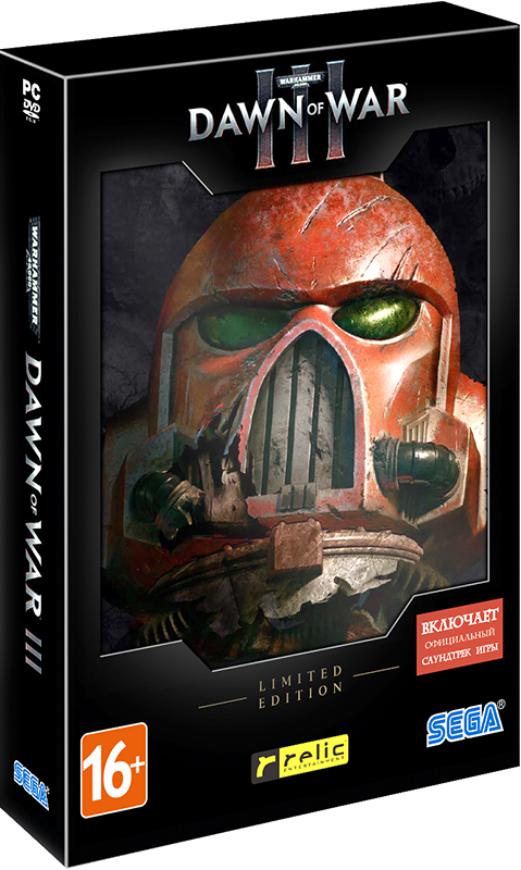 Warhammer 40 000: Dawn of War III. Limited Edition [PC–DVD] warhammer 40 000 dawn of war iii цифровая версия