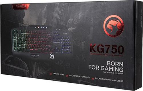 Клавиатура Marvo KG750 проводная игровая с подсветкой для PC клавиатура marvo kg858 проводная игровая с подсветкой для pc