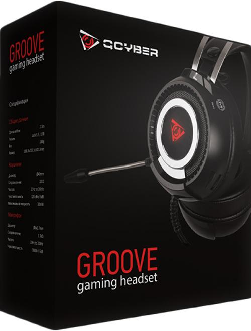 Проводная гарнитура Qcyber Groove для PC