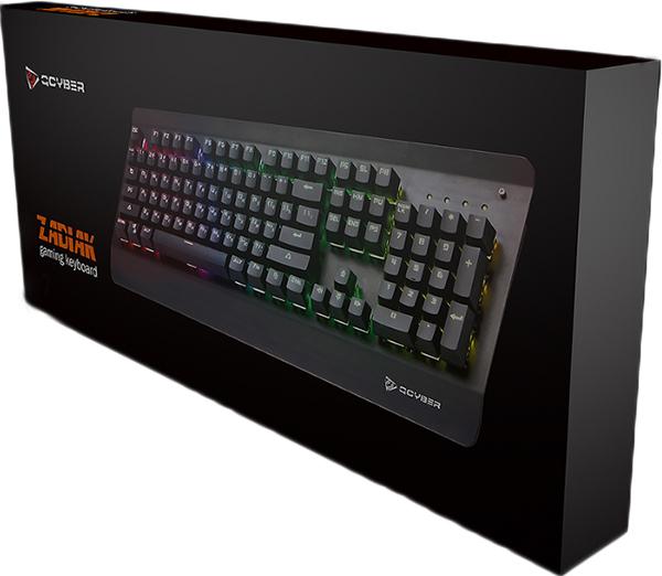 Клавиатура Qcyber Zadiak проводная игровая для PC