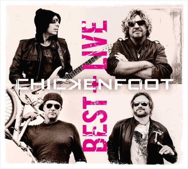 Chickenfoot – Best + Live (2 CD) cd диск iron maiden live after death 2 cd