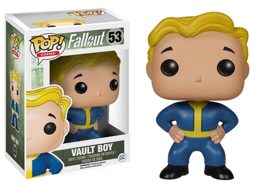 Фигурка Funko POP Games: Fallout – Vault Boy (9,5 см)Фигурка Funko POP Games: Fallout – Vault Boy несомненно понравится фантам серии игр Fallout. Она изображает Волт-Боя, который является своеобразным символом довоенной организации, упоминаемой в серии игр Fallout.<br>