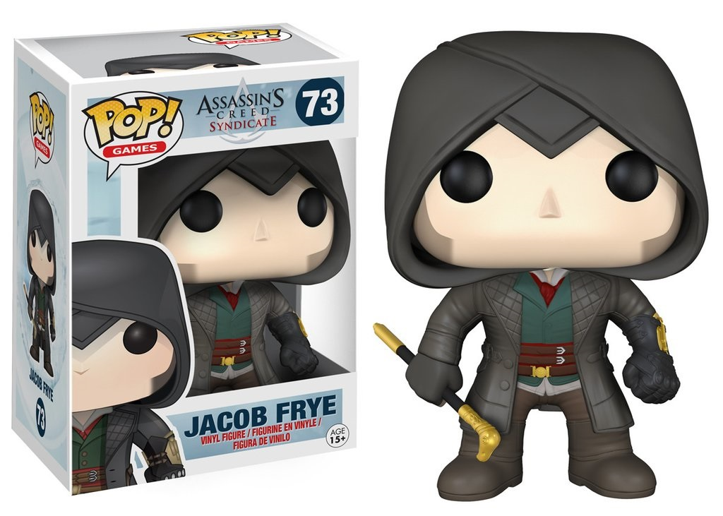 Фигурка Funko POP Games: Assassin's Creed Syndicate – Jacob Frye (9,5 см)