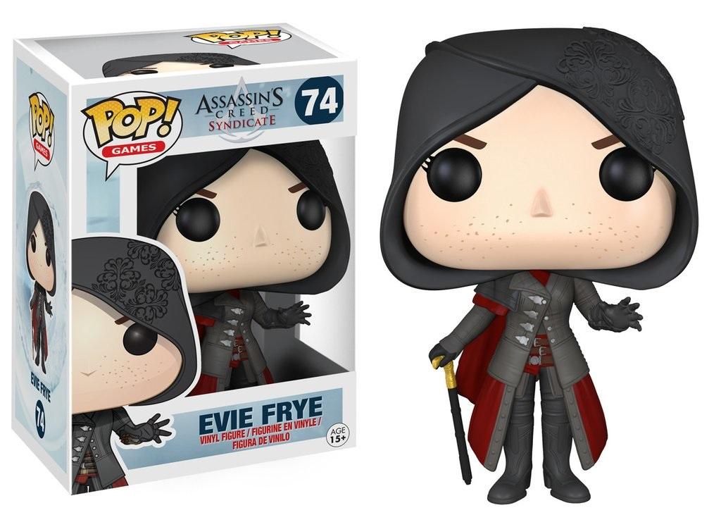 Фигурка Funko POP Games: Assassins Creed Syndicate – Evie Frye (9,5 см)Фигурка Funko POP Games: Assassins Creed Syndicate – Evie Frye воплощает собой одного из персонажей популярной серии игр Assassins Creed.<br>