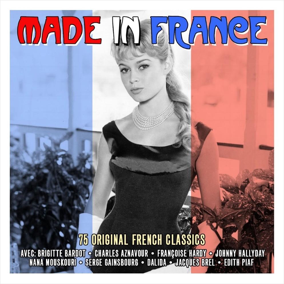 Сборник – Made In France (3 CD)Made In France – самый лучший сборник французской музыки! В нем собраны песни, написанные авторами мирового класса.<br>