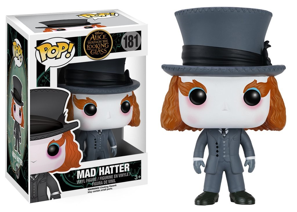 Фигурка Funko POP Disney: Alice Through the Looking Glass – Mad Hatter (9,5 см) мягкая игрушка alice through the looking glass red queen 10 см