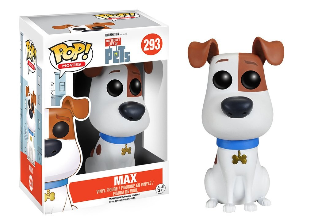 Фигурка Funko POP Movies: The Secret Life of Pets – Max (9,5 см)Фигурка Funko POP Movies: The Secret Life of Pets – Max, созданная по мотивам американской анимационной комедии Тайная жизнь домашних животных, воплощает собой главного героя мультфильма – терьера Макса. Он очень любит свою хозяйку и постоянно ждет ее с работы, сидя у двери.<br>