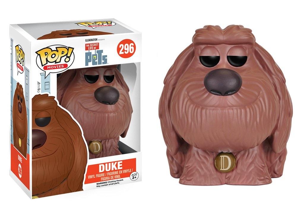 Фигурка Funko POP Movies: The Secret Life of Pets – Duke (9,5 см)Фигурка Funko POP Movies: The Secret Life of Pets – Duke, созданная по мотивам американской анимационной комедии Тайная жизнь домашних животных, воплощает собой одного из «лохматых» героев мультфильма Дюка – пса дворового происхождения, забранного из приюта.<br>