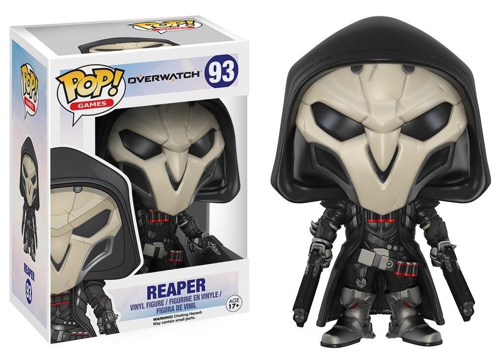 Фигурка Funko POP Games: Overwatch – Reaper (9,5 см)
