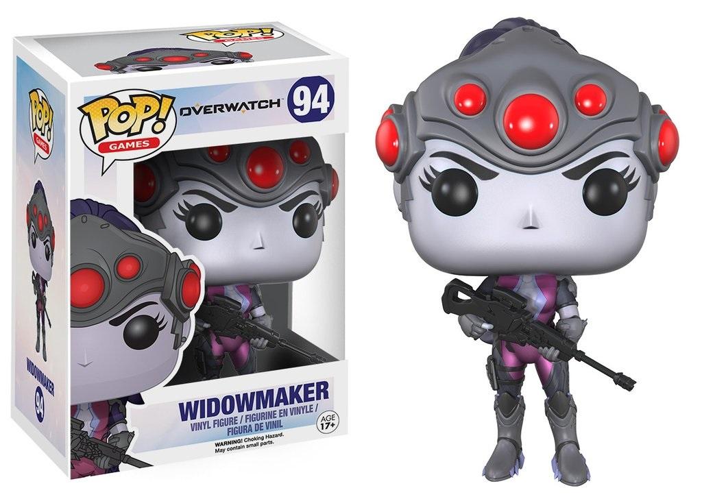 Фигурка Funko POP Games: Overwatch – Widowmaker (9,5 см)Фигурка Funko POP Games: Overwatch – Widowmaker&amp;nbsp;создана по мотивам популярной многопользовательской игры Overwatch и воплощает собой персонажа игры – Роковую вдову.<br>
