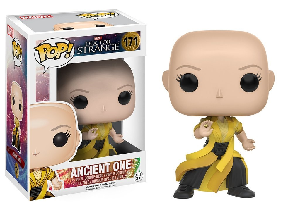 Фигурка-башкотряс Funko POP Marvel: Doctor Strange – Ancient One Bobblehead (9,5 см) футболка рингер printio доктор кто doctor who