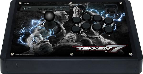 Аркадный стик Hori Arcade Real Arcade Pro Tekken 7 Edition для PS4 / PS3 / PCПолучите полную свободу действий и контроль над игровой ситуацией в игре Tekken 7 вместе с новым аркадным стиком Hori Real Arcade Pro TEKKEN 7 Edition.Устройство официально лицензировано Bandai Namco Entertainment и Sony. Версия для Sony PS4 / PS3 черного цвета с изображением персонажей Kazuya и Heihachi.<br>