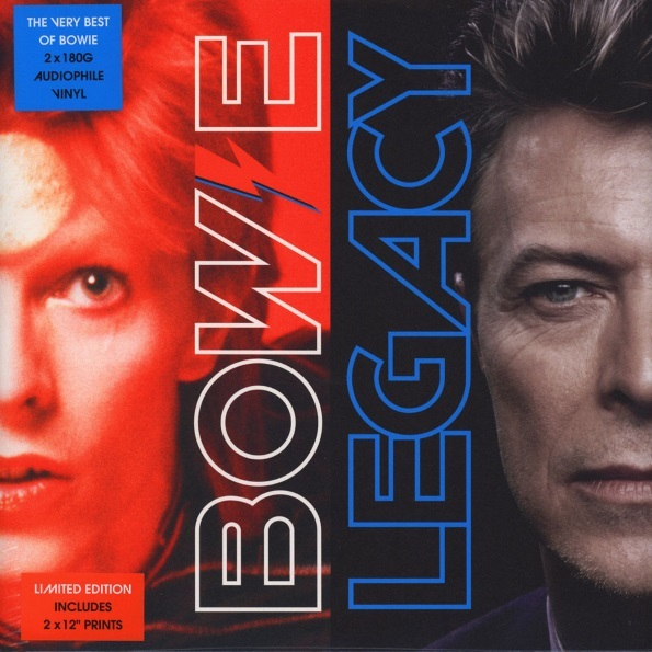 David Bowie – Legacy – The Very Best Of David Bowie (2 LP) cd сборник the very best of beethoven