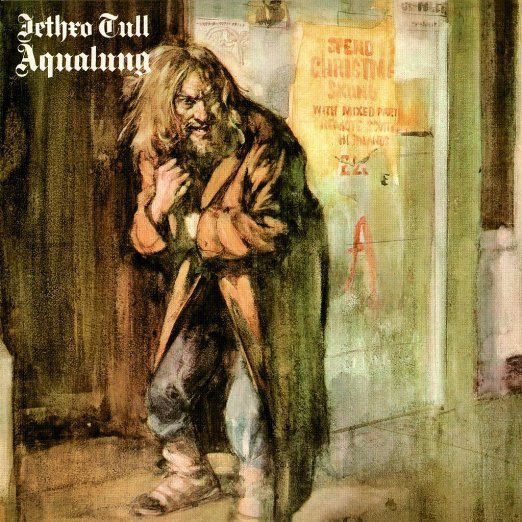 Jethro Tull – Aqualung (LP) jethro tull jethro tull thick as a brick