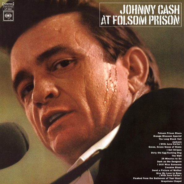 Johnny Cash – At Folsom Prison (2 LP) джонни кэш cash johnny 8 classic albums 4cd