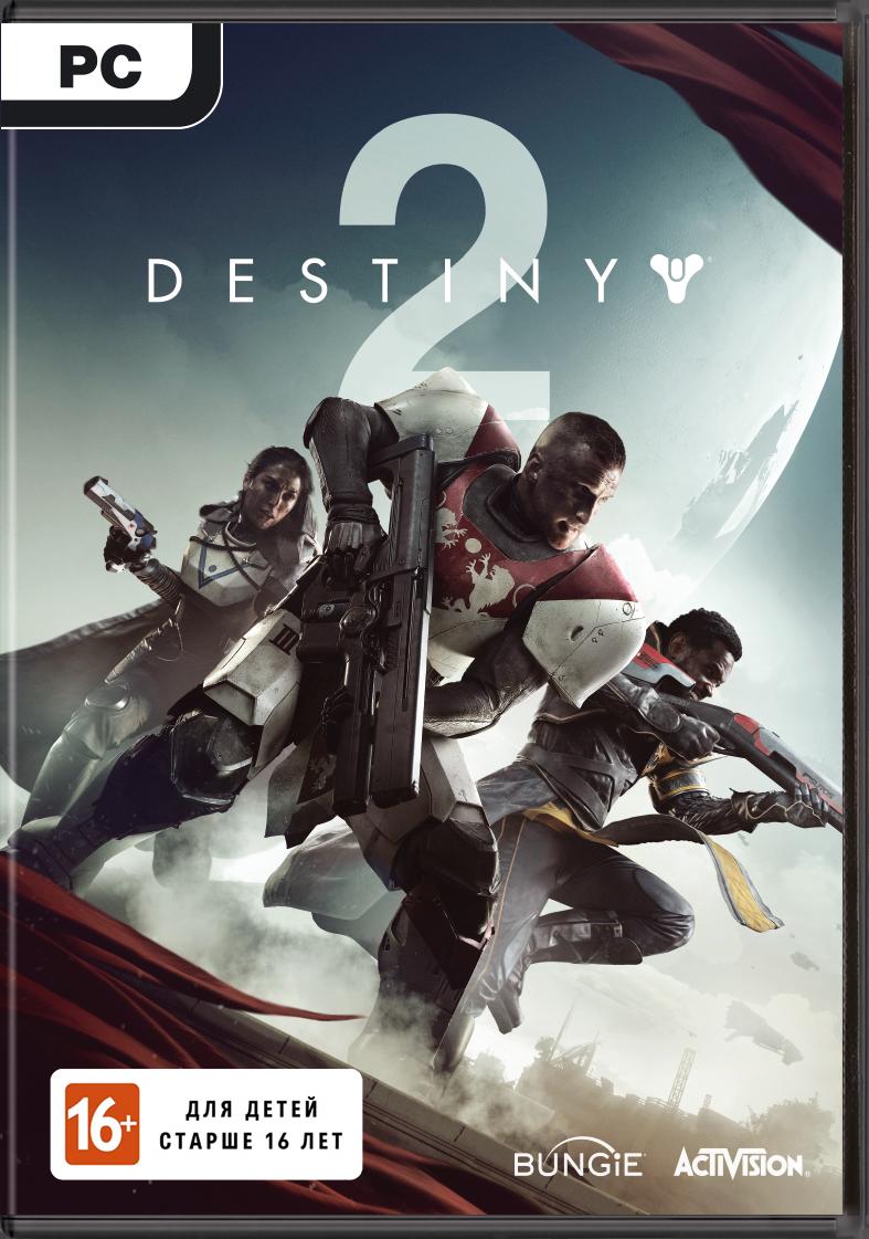 Destiny 2 (код загрузки) [PC]Закажите игру Destiny 2 для PC до 17:00 часов 20 октября 2017 года и получите 100 дополнительных бонусов на карту 1С Интерес, а также 2 DLC – «Холодное сердце» и «Призрак-счетчик убийств».<br>