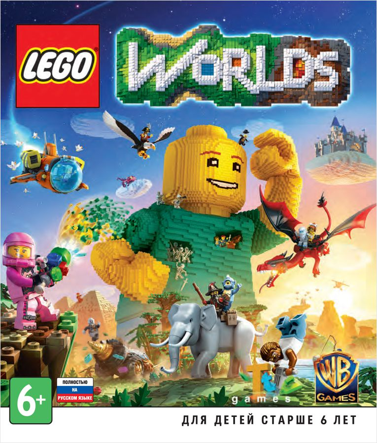 LEGO Worlds  (Цифровая версия)LEGO Worlds &amp;ndash; это скопление миров, сделанных полностью из блоков LEGO.<br>