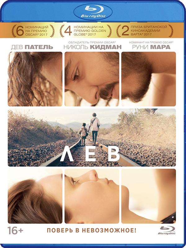 Лев (Blu-ray) LionГерой фильма Лев &amp;ndash; Сару, мальчик из трущоб, потерялся в возрасте 5-ти лет. История об удивительных поворотах его судьбы и поисках семьи.<br>