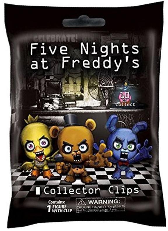 Брелок Five Nights at Freddys (в ассортименте)Брелок Five Nights at Freddys создан по мотивам мультиплатформенной игры Пять ночей у Фредди, действие которой происходит в пиццерии «Freddy Fazbear's Pizza».<br>