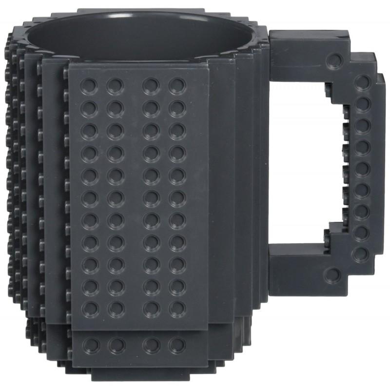 Кружка Build-On Brick (черная) (350 мл)Черная кружка Build-On Brick создана для всех фанатов конструкторов, ведь она как будто собрана из конструктора!<br>