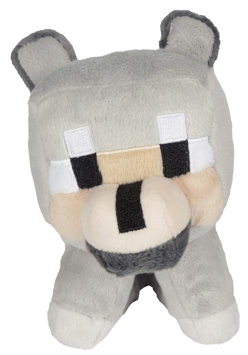 Мягкая игрушка Minecraft: Baby Wolf (20 см)Мягкая игрушка Minecraft: Baby Wolf представляет собой волчонка, милая мордочка которого намекает, что его приручили.<br>