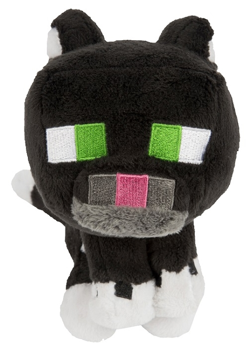 Мягкая игрушка Minecraft: Tuxedo Cat (20 см)