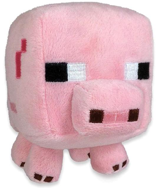 Мягкая игрушка Minecraft: Small Baby Pig (20 см)Мягкая игрушка Minecraft: Small Baby Pig является воплощением дружелюбного моба, который впервые появился в версии Survival Test.<br>