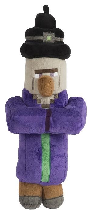 Мягкая игрушка Minecraft: Witch (36 см)Мягкая игрушка Minecraft: Witch является воплощением Ведьмы – враждебного моба, использующего для атаки различные зелья.<br>