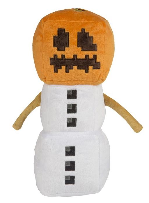 Мягкая игрушка Minecraft: Snow Golem (30 см)Мягкая игрушка Minecraft: Snow Golem воплощает собой первого в игре «сервисного моба», применяемого для производства снежков и заманивания враждебных мобов в ловушки.<br>