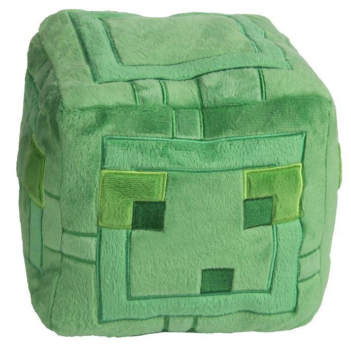 Мягкая игрушка Minecraft: Slime (24 см)Мягкая игрушка Minecraft: Slime является воплощением Слизня – враждебного зелёного желеподобного мобв трёх размеров, способного видеть игрока через твёрдые блоки.<br>