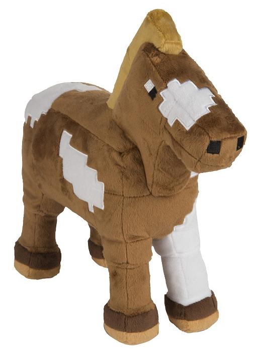 Мягкая игрушка Minecraft: Horse (33 см)Мягкая игрушка Minecraft: Horse представляет собой лошадь – дружелюбного и приручаемого моба, используемого игроками в качестве транспорта.<br>