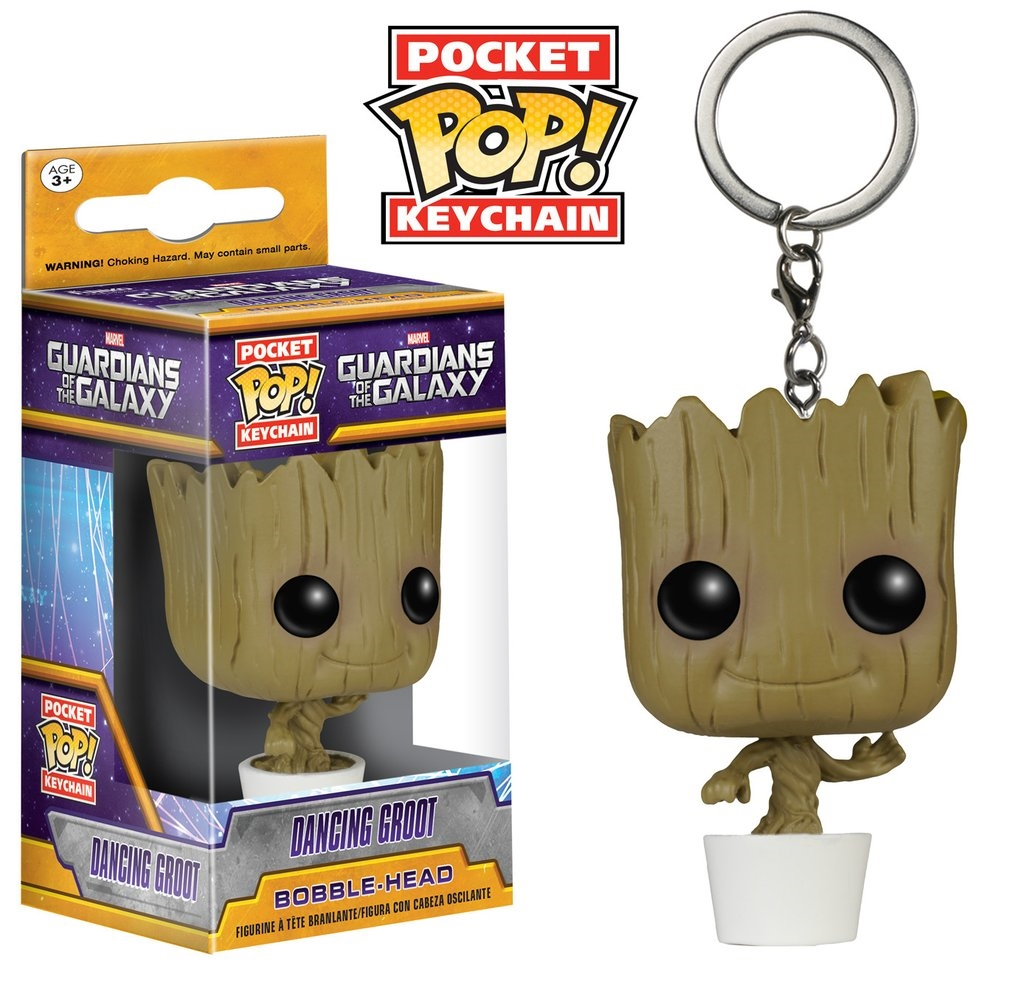 Брелок Funko POP Marvel: Guardians Of The Galaxy – Baby Groot майка классическая printio guardians of the galaxy vol 2