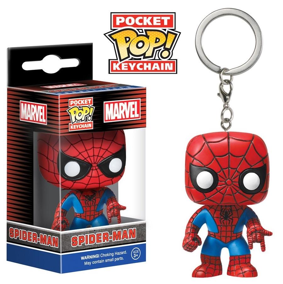 Брелок Funko POP Marvel: Spider-ManБрелок Funko POP Marvel: Spider-Man воплощает собой известного супергероя комиксов Marvel Человека-паука.<br>