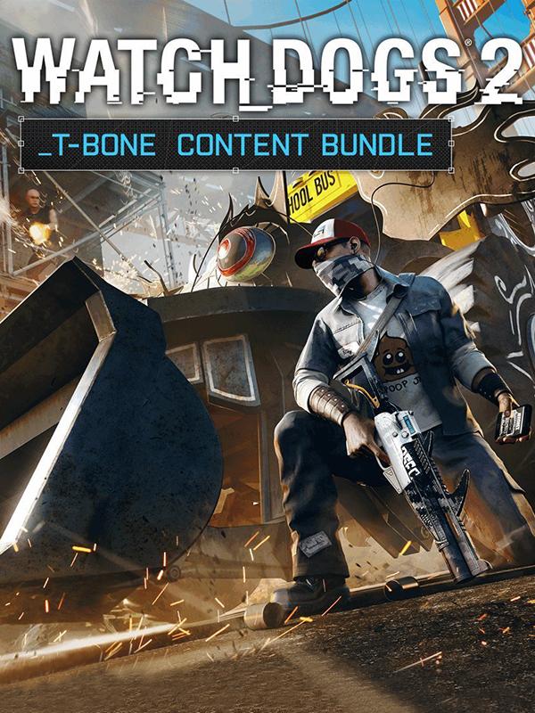 Watch Dogs 2. T-Bone Content Bundle (Цифровая версия)Первый дополнительный набор Watch Dogs 2. T-Bone Content Bundle включает в себя костюм в стиле легендарного Ти-Бона и грузовик, которому нипочем любое препятствие. Устройте в Сан-Франциско настоящий хаос!<br>